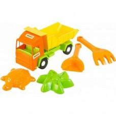 """""""Mini truck"""" грузовик с набором для песка 5 эл."""