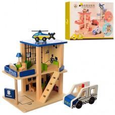 Деревянная игрушка Гараж MD 1059