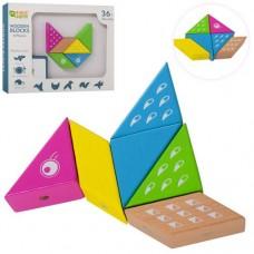 Деревянная игрушка Геометрика MD 2040