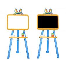 Доска для рисования Желто-голубая