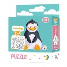 Пазл 2в1 Пингвин