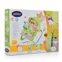Шезлонг-качалка детский PK-306-5 - 1 фото